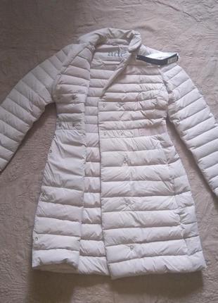 Новое премиум пальто на пуху add приталенное пальто курка итал...