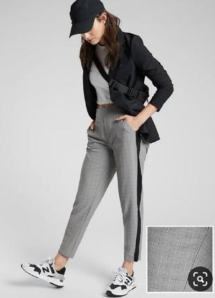 Классические брюки штаны в гусиную лапку с лампасами класичні ...