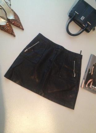 Юбочка мини экокожа/юбка из искусственной кожи.024 бесплатная ...