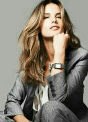 Женский стильный классический серый брючный костюм