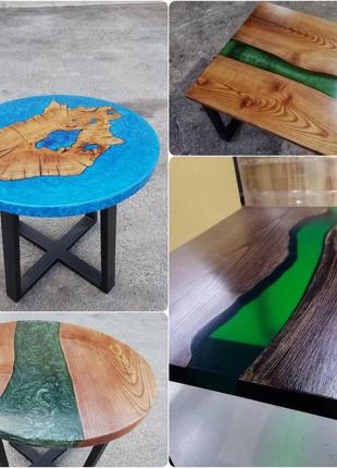 Мебель. Стол из эпоксидной смолы