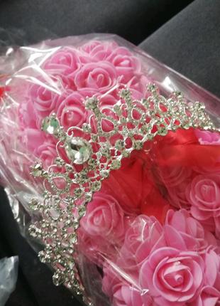Тиара диадема корона для свадьбы или фотосессии