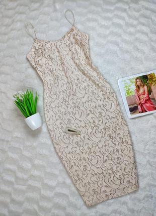 Платье-миди в бельевом стиле river island с золотистой нитью, ...