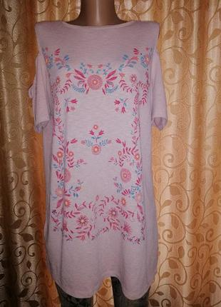 🌺🌺🌺стильная трикотажная женская блузка, футболка, кофта с коро...