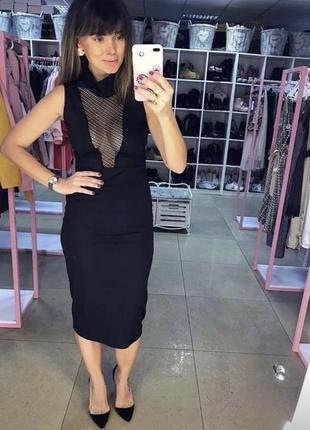 🌿 нереальное платье с v-образным вырезом на груди