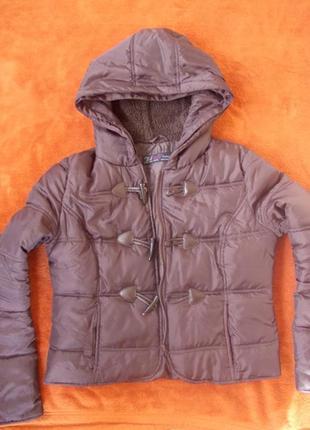 Куртка zara р.м короткая