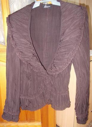 Блуза на запах, на завязке р. 42-46