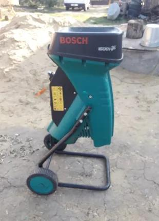 BOSCH 1600W веткорез измельчитель веток садовый шредер немецкий