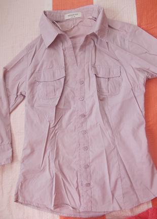 Рубашка офисная  р.38