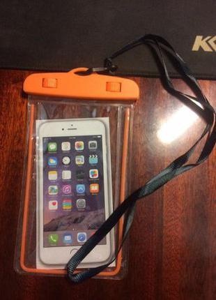 Универсальный водонепроницаемый чехол для смартфона или докуме...