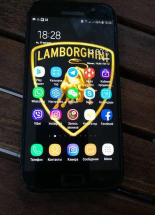 Продам Samsung Galaxy A7 2017 Duos SM-A720 Black