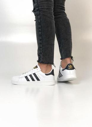 Adidas superstar cтильные кроссовки адидас суперстар весна\лет...