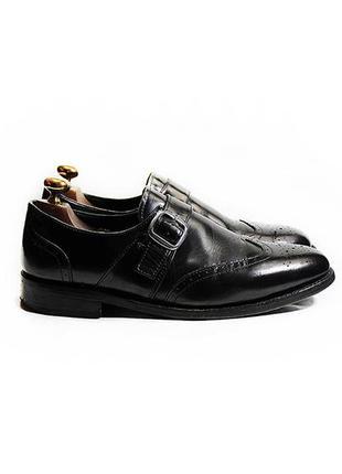 Мужские кожаные туфли броги монки samuel windsor