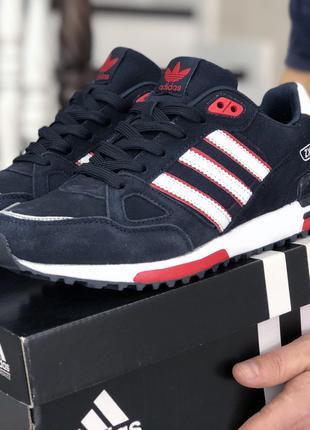 Красивые кроссовки Адидас Adidas ZX, мужские, р. 41-46, SF9038-40