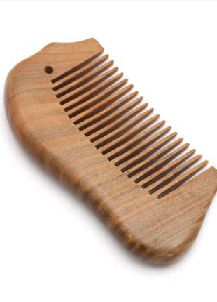 Гребень для длинных волос сандаловый 2394-55