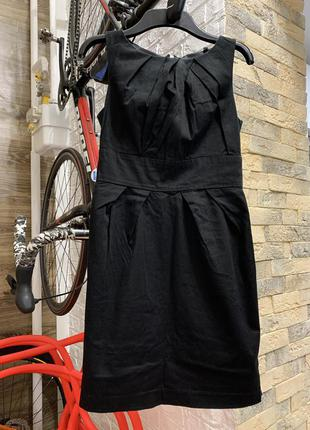 Платье чёрное нарядное классика new look
