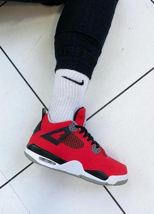 Nike air jordan 4 retro cтильные кроссовки найк эир джордан ве...