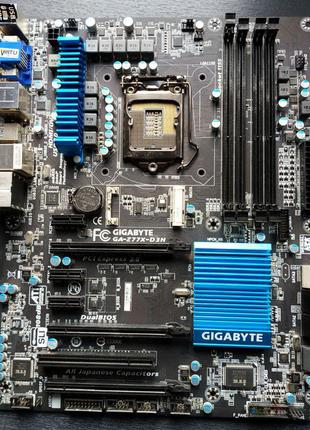ТОРГ! Материнская плата Gigabyte GA-Z77X-D3H rev:1.0 Socket LGA11