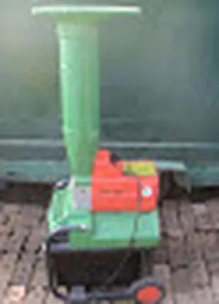 Немецкий электрический шредер садовый измельчитель веток BRILL