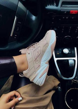 Модные женские кроссовки 👟 бежевые