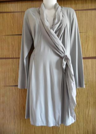 Платье «халат», новое, yaya размер хl(14) – идет на 48-50+.