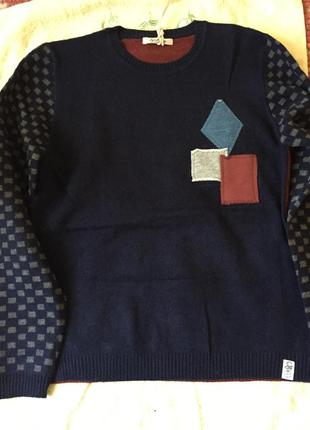 Классический свитер мальчику