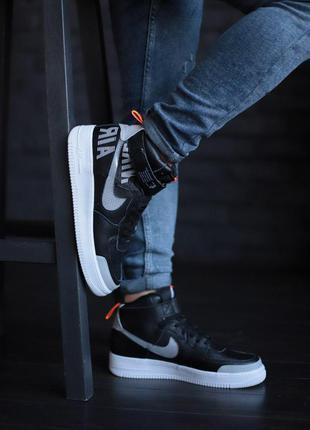 Nike air force high black