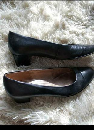 Туфли кожа 37,5 gabor