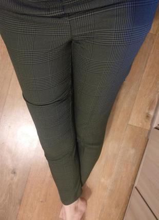 Штаны брюки в клетку