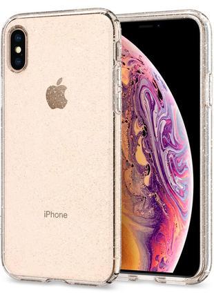 Чехол Spigen Liquid Crystal Glitter для iPhone XS Max Crystal