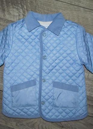 Стеганная куртка mayoral newborn 6-9 мес 75см
