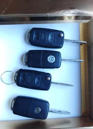 Ключ корпус ключа Volkswagen Caddy Golf