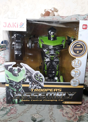 Машинка робот трансформер