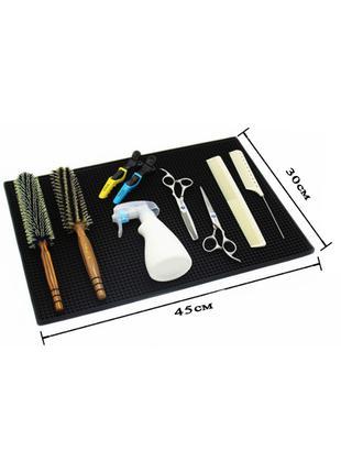 Коврик парикмахерский для ножниц инструмента термостойкий
