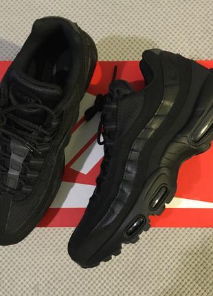 Кроссовки Nike Air Max 95 Triple Black 609048-092