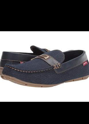 Мокасини levi's® shoes nickel denim