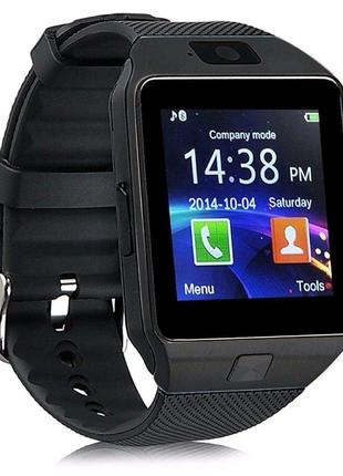Смарт-часы Smart Watch DZ09 Original Black