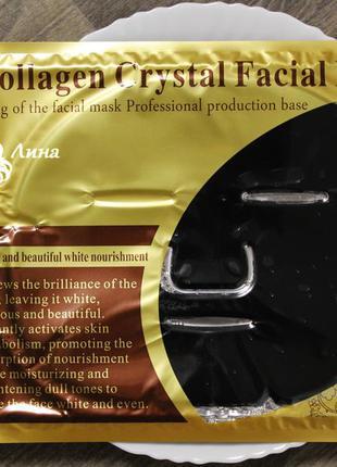 Гидрогелевая маска с коллагеном collagen mask (черная)