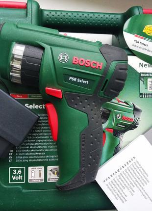 Аккумуляторная отвертка-шуруповерт Bosch PSR Select оригинал