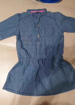 Туника рубашка carters джинс cotton