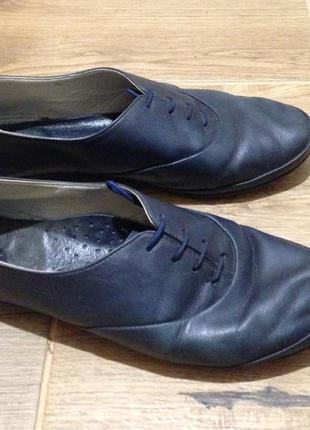 Мокасины туфли кожаные кожа закрытые на шнуровке sale до 05.06...