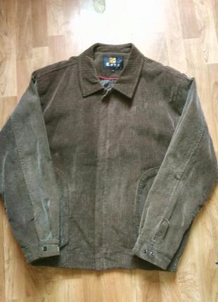 Вельветовая куртка ветровка 54 размера