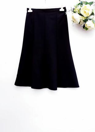 Юбка миди практичная юбка миди восьмиклинка