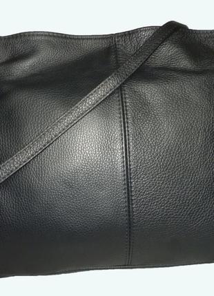 Стильная большая сумка натуральная кожа borse in pelle  италия