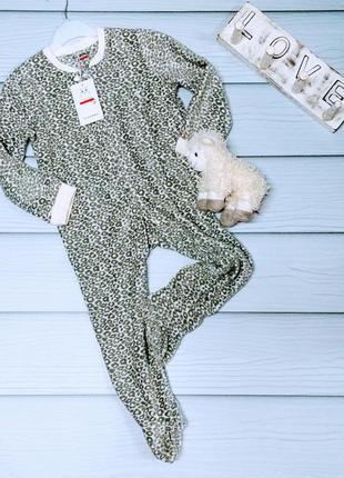 Флисовый слип, пижамка castro (англия)