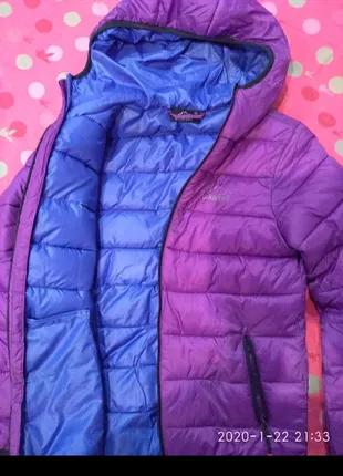 Куртка на девочку 10-12 лет