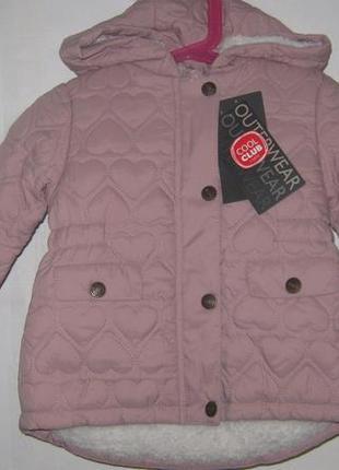 Идеальная стеганая курточка на тонком меху