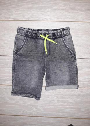 Мягкие шорты под джинс f&f на 7-8 лет