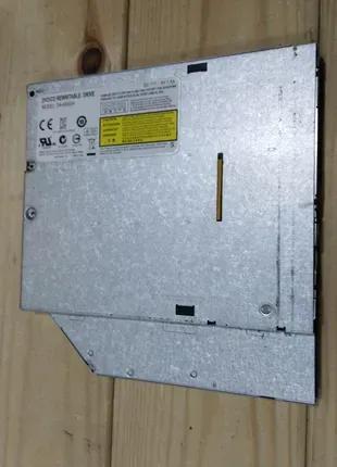 Тонкий dvd/cd привод sata для ноутбука