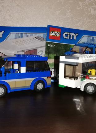 Машина-дом LEGO